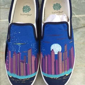 Bucketfeet Other - Priceless Bucket feet Men's Lollapalooza shoes