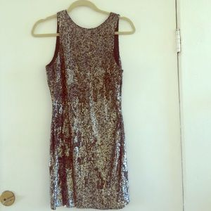 All Saints sequin dress