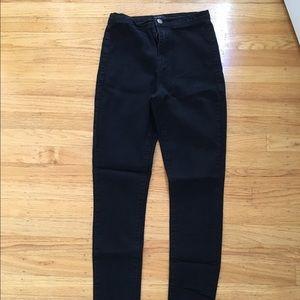 Forever21 Black High waisted jeans