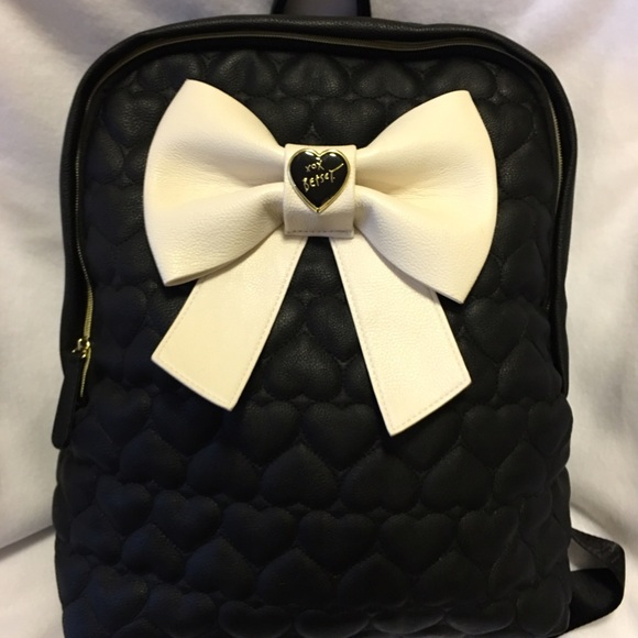 95201cd346 Betsey Johnson Handbags - New Black Betsey Johnson Backpack