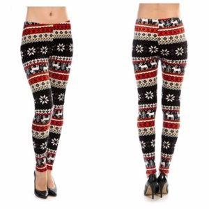  Reindeer and Snowflake Leggings!