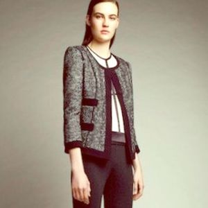 Narciso Rodriguez Jackets & Blazers - Narciso Rodriguez metallic textured blazer
