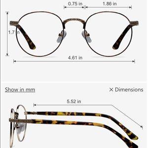 dc575297eee Urban Outfitters Accessories - Basquiat Tortoise Round Eyeglasses