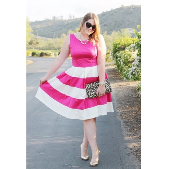 kate spade Dresses & Skirts - Kate Spade Pink Striped Dress
