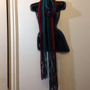Tribal woven sash belt