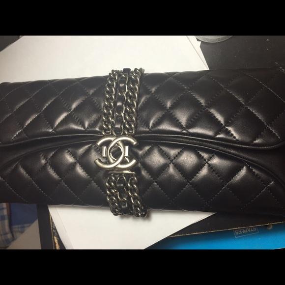 c33b2043c6ad CHANEL Handbags - Chanel clutch bag with chain le boy 2.55