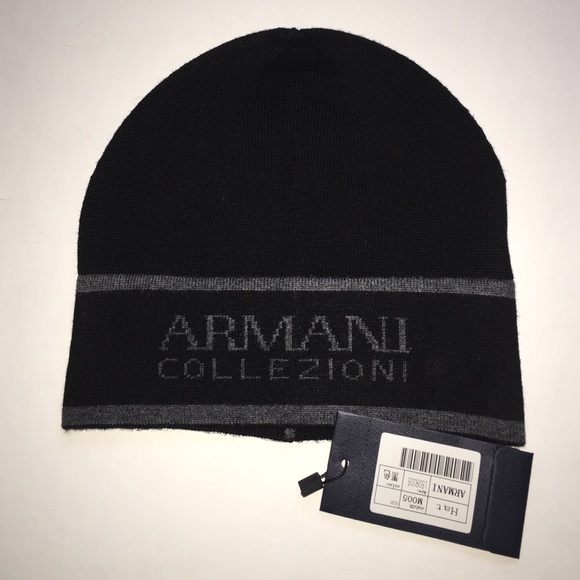Armani Unisex Winter Hat NWT 04193e57bfb