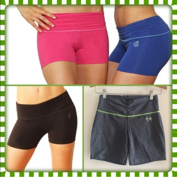 66% off Green Apple Pants - Green Apple Active Yoga Pants Shorts ...