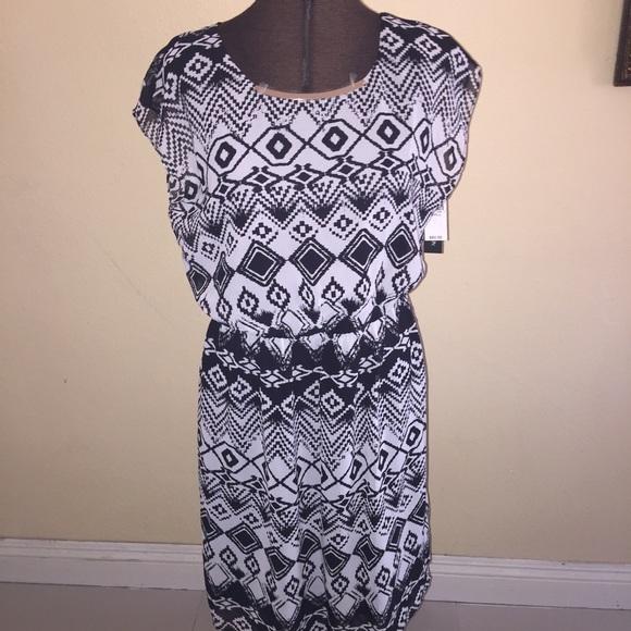 Off Ab Studio Dresses Skirts Dress Ab Studio Black And