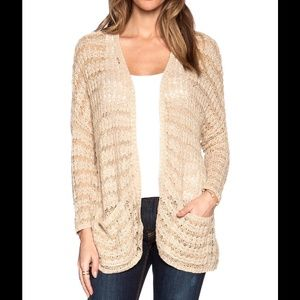FREE PEOPLE LAST NIGHT CARDIGAN