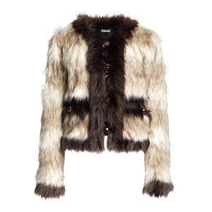 Lanvin x HM Faux Fur Coat