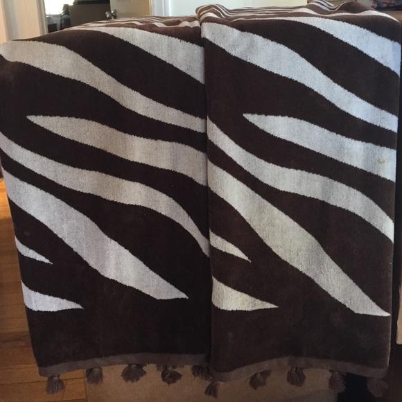 Zebra Tea Towels: 43% Off Kate Spade Accessories