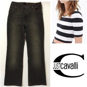 Just Cavalli Denim - 💙 Just Cavalli Black Distressed Jeans Size 29