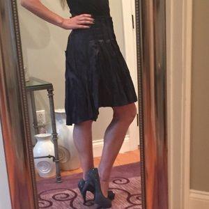 Liviana Conti Dresses & Skirts - Liviana Conti midnight a-symmetrical skirt