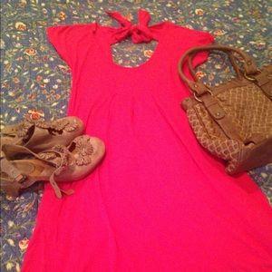 Velvet Torch Dresses & Skirts - Nordstrom jersey dress with tie back size M EUC