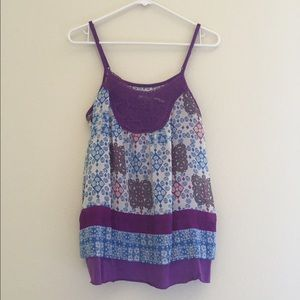  Urban Outfitters boho tank top