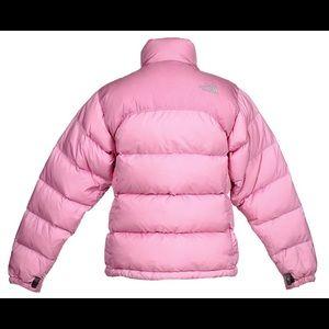 The North Face Jackets   Coats - Pink North Face Nuptse 700 Down Jacket  Size Medium 5e8cec8a3