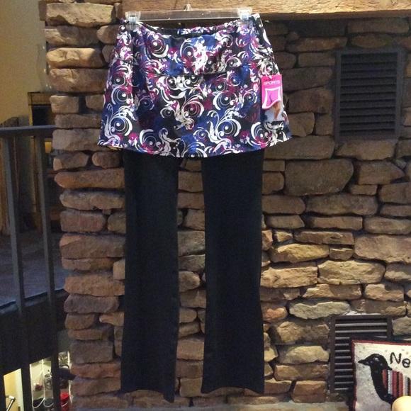 f7137146666c5b Skirt Sports Pants | Nwt Tough Girl Skirt W Attached Leggings | Poshmark