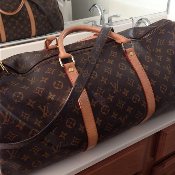 d6f38315c Louis Vuitton Bags | Beautiful Lv Keepall 55 Replica | Poshmark