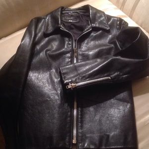 Jackets & Blazers - Leather Moto Jacket