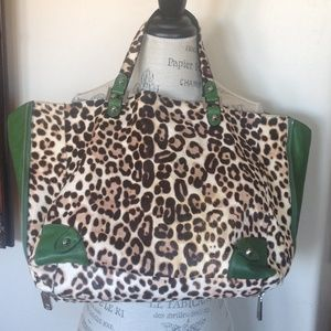 JUICY COUTURE LEPARD TOTE