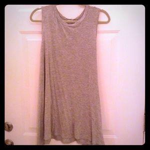 Acemi Dresses & Skirts - Light Heather Grey Acemi Jersey Dress