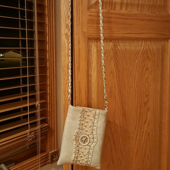 Rustic Couture  Bags - Rustic Couture leather embellished Crossbody bag