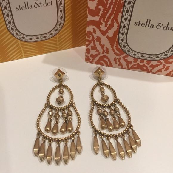 Stella Dot Reverie Chandelier Earrings