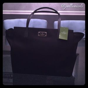 💯%Authentic ♠️KATE SPADE♠️Black Avenue Taden Tote