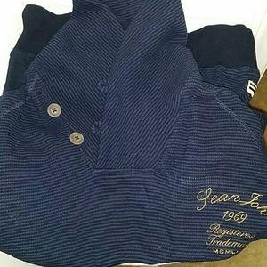Sean John  Other - Sean John navy blue men's shawl neck sweater
