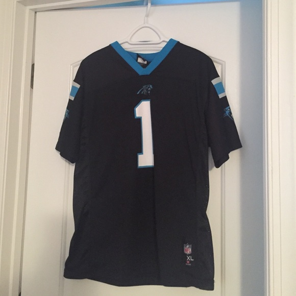 NFL Tops - Carolina Panthers Cam Newton - Youth Jersey 52ad22d8a590