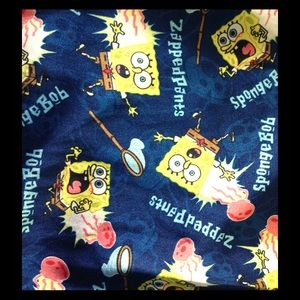 Nickelodeon Other - Super fun SpongeBob satin lounge or pj's pants.