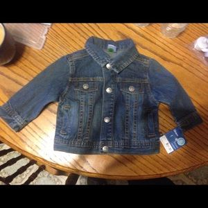 Carter's Other - Carter's 6mon size denim jean jacket BRAND NEW