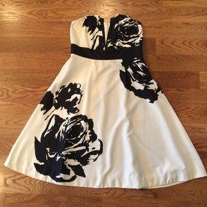 The Limited halter floral dress