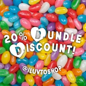 Other - 🍧🍡🍬🍭20% Bundle Discount!!🍡🍧🍭🍬