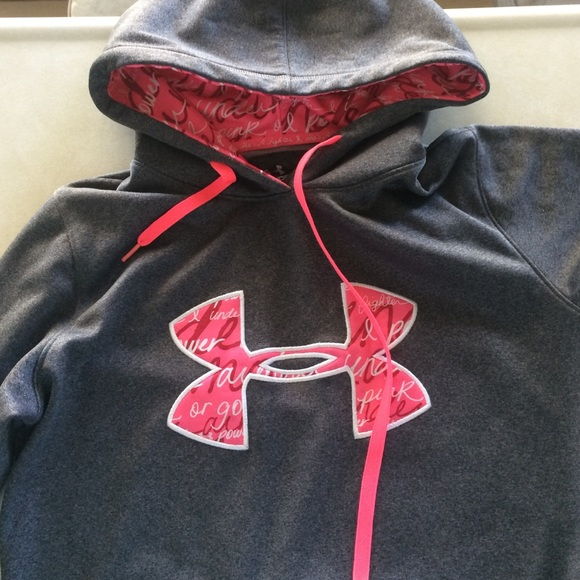 under armour breast cancer. ua storm breast cancer awareness hoodie under armour poshmark