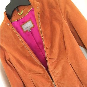 Wilsons Leather Jackets & Blazers - Vintage 1970's Orange Suede Jacket