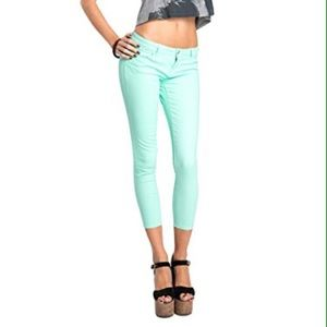 70% off Celebrity Pink Pants - Neon Green Skinny Jeans from ...