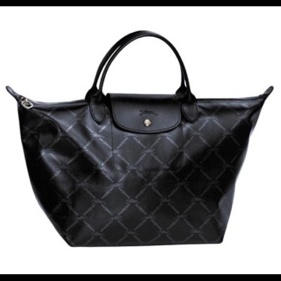 Longchamp Handbags - Longchamp LM Metal Medium Short Handle Tote 6a8ed7fe53692