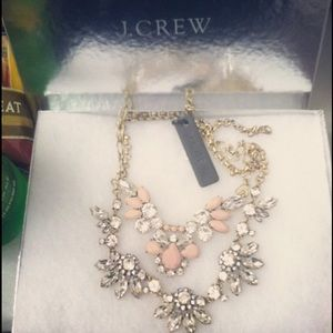 J crew crystal statement necklaces