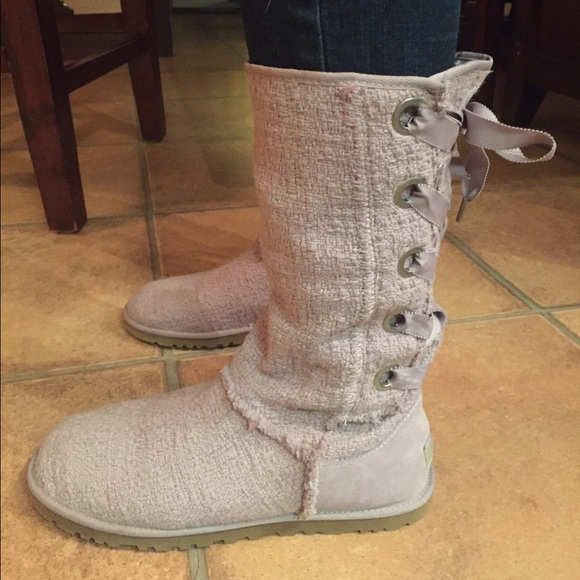 3073859d09a UGG Australia-heirloom lace up boots- size 10