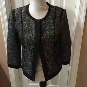 Narciso Rodriguez Jackets & Blazers - Black and grey tweed blazer