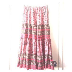 White Stag Dresses & Skirts - Paisley Long Skirt