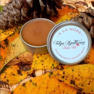 Tulips Apothecary Other - Apple Pie Lip Balm - A la Mode Pucker Pot