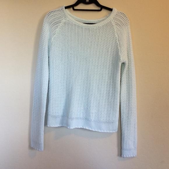 Brandy Melville - Brandy Melville Ollie Light Blue Knit Sweater ...