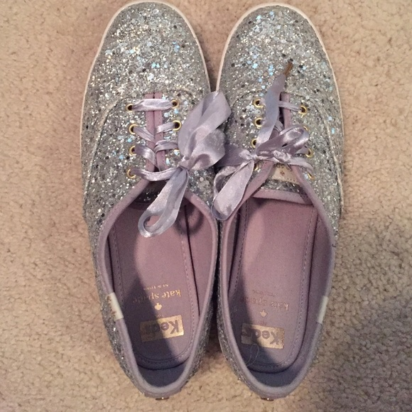 6bb3ed60b713 kate spade Shoes - Keds for Kate Spade Silver Glitter Sneakers