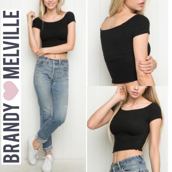 7b205d90316f7b Brandy Melville Tops - 🌟SALE🌟Brandy Melville