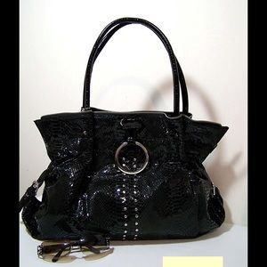 Handbags - New Faux Leather Snake Look Bag - Closeout