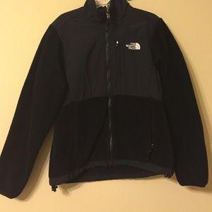Women's North Face Black Fleece Jacket