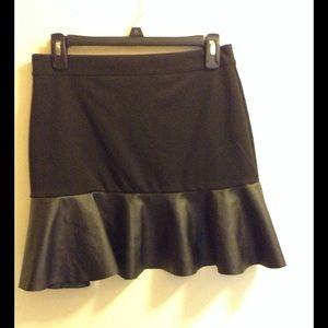 Forever 21 Skirts - Forever XI Vegan Leather Mini-skirt